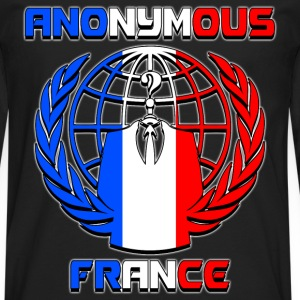 anonymous france Tee shirts - T-shirt manches longues Premium Homme