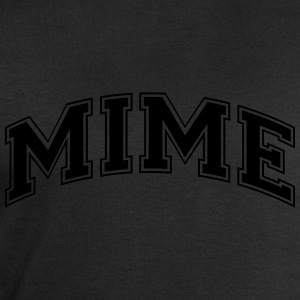 mime college style curved logo - Men's Sweatshirt by Stanley & Stella