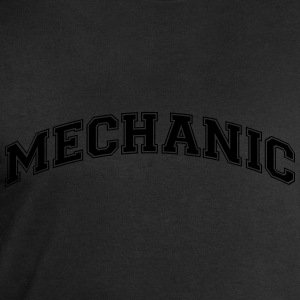 mechanic college style curved logo - Men's Sweatshirt by Stanley & Stella