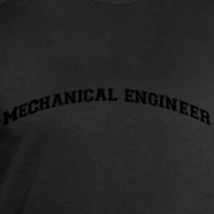 mechanical engineer college style curved - Men's Sweatshirt by Stanley & Stella