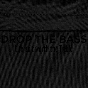 Drop the Bass Dubstep Drum and Bass Design (EU) T-Shirts - Kids' Backpack