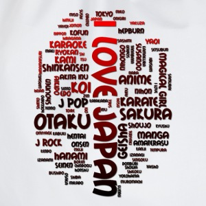 I Love Japan T-Shirts - Turnbeutel