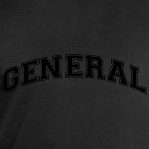 general college style curved logo - Men's Sweatshirt by Stanley & Stella