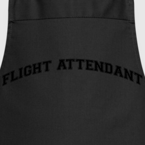 flight attendant college style curved lo - Cooking Apron