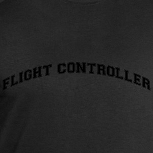 flight controller college style curved l - Men's Sweatshirt by Stanley & Stella