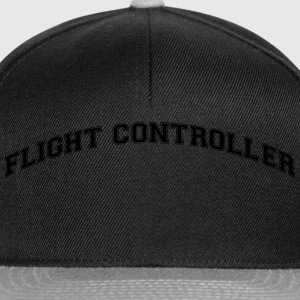 flight controller college style curved l - Snapback Cap