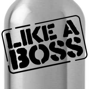 like a boss T-shirts - Vattenflaska