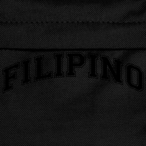 filipino  college style curved logo - Kinder Rucksack