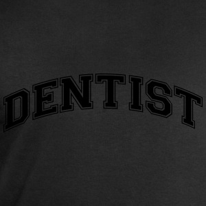dentist college style curved logo - Men's Sweatshirt by Stanley & Stella