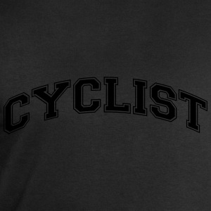 cyclist college style curved logo - Men's Sweatshirt by Stanley & Stella