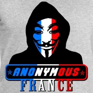 anonymous france Tee shirts - Sweat-shirt Homme Stanley & Stella