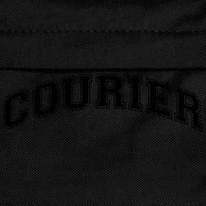 courier college style curved logo - Kinder Rucksack