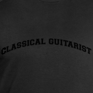 classical guitarist college style curved - Men's Sweatshirt by Stanley & Stella