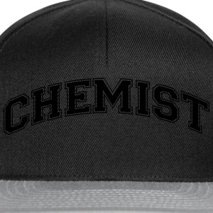 chemist college style curved logo - Snapback Cap
