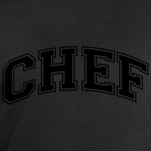 chef college style curved logo - Men's Sweatshirt by Stanley & Stella