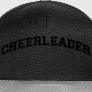 cheerleader college style curved logo - Snapback Cap