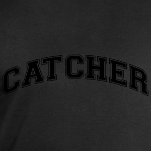 catcher college style curved logo - Men's Sweatshirt by Stanley & Stella