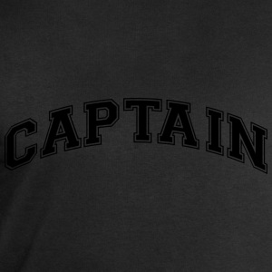 captain college style curved logo - Men's Sweatshirt by Stanley & Stella