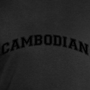 cambodian  college style curved logo - Men's Sweatshirt by Stanley & Stella