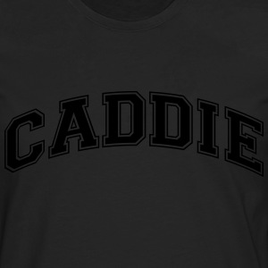 caddie college style curved logo - Men's Premium Longsleeve Shirt