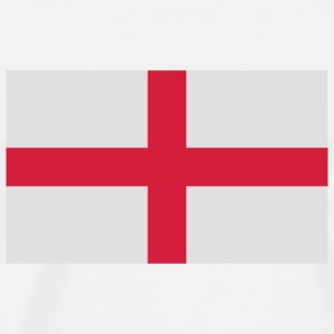 National flag of England Baby Bodysuits - Men's Premium T-Shirt