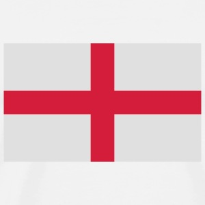 National flag of England Long Sleeve Shirts - Men's Premium T-Shirt