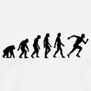 Evolution of Running Krus & tilbehør - Herre premium T-shirt