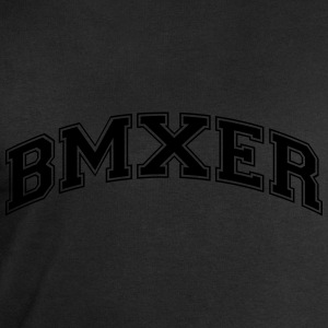 bmxer college style curved logo - Men's Sweatshirt by Stanley & Stella