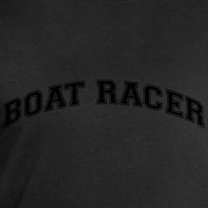 boater college style curved logo - Men's Sweatshirt by Stanley & Stella