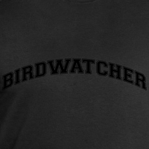 birdwatcher college style curved logo - Men's Sweatshirt by Stanley & Stella