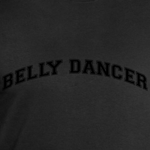 belly dancer college style curved logo - Men's Sweatshirt by Stanley & Stella