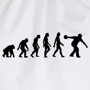 The Evolution of Bowling T-Shirts - Drawstring Bag