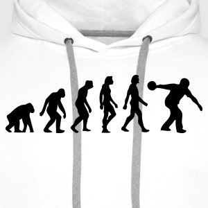 The Evolution of Bowling T-Shirts - Men's Premium Hoodie