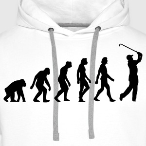 The Evolution of Golf Polo Shirts - Men's Premium Hoodie