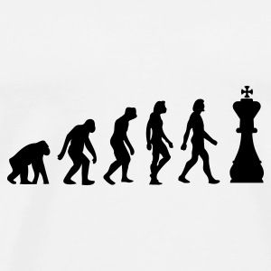 The Evolution of Chess Annet - Premium T-skjorte for menn