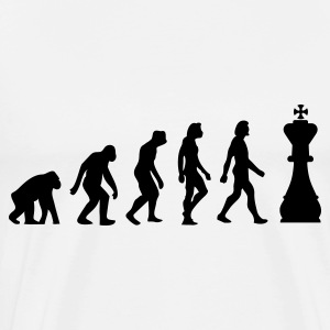 The Evolution of Chess Sports wear - Men's Premium T-Shirt