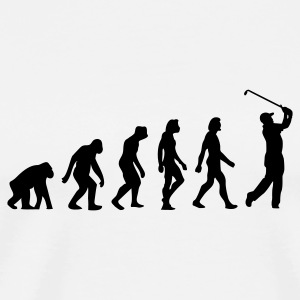 Evolution of Golf Krus & tilbehør - Herre premium T-shirt