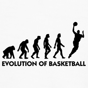 The Evolution of Basketball Kopper & tilbehør - Premium T-skjorte for menn