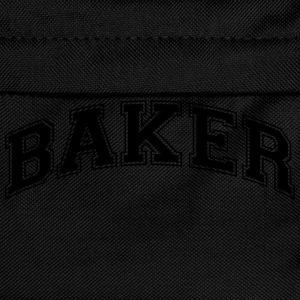 baker college style curved logo - Kids' Backpack