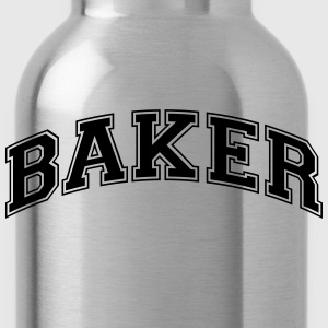 baker college style curved logo - Water Bottle