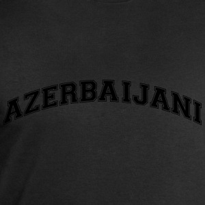 azerbaijani  college style curved logo - Men's Sweatshirt by Stanley & Stella