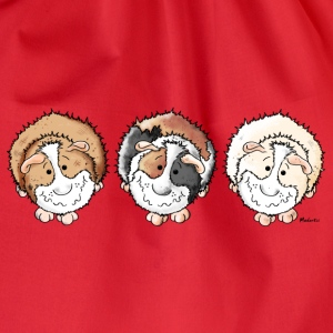 Funny Guinea Pigs Long Sleeve Shirts - Drawstring Bag