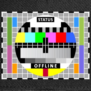 Testbild Display screen test card offline Big Bang T-Shirts - Snapback Cap