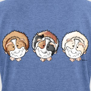 Funny Guinea Pigs Hoodies & Sweatshirts - Women's T-shirt with rolled up sleeves