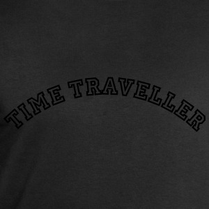 time traveller curved college style logo - Men's Sweatshirt by Stanley & Stella
