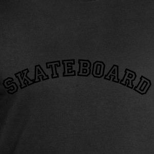 skateboard curved college style logo - Men's Sweatshirt by Stanley & Stella