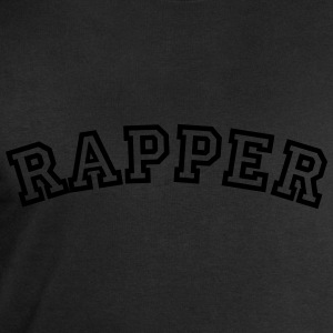 rapper curved college style logo - Men's Sweatshirt by Stanley & Stella