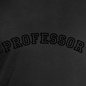 professor curved college style logo - Men's Sweatshirt by Stanley & Stella