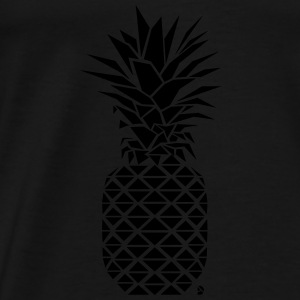 AD Geometric Pineapple  Hoodies & Sweatshirts - Men's Premium T-Shirt