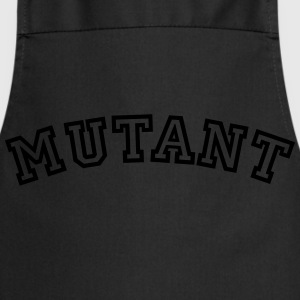 mutant curved college style logo - Cooking Apron